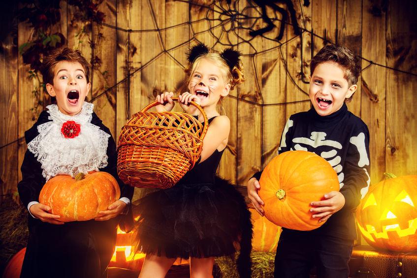 An organized Halloween