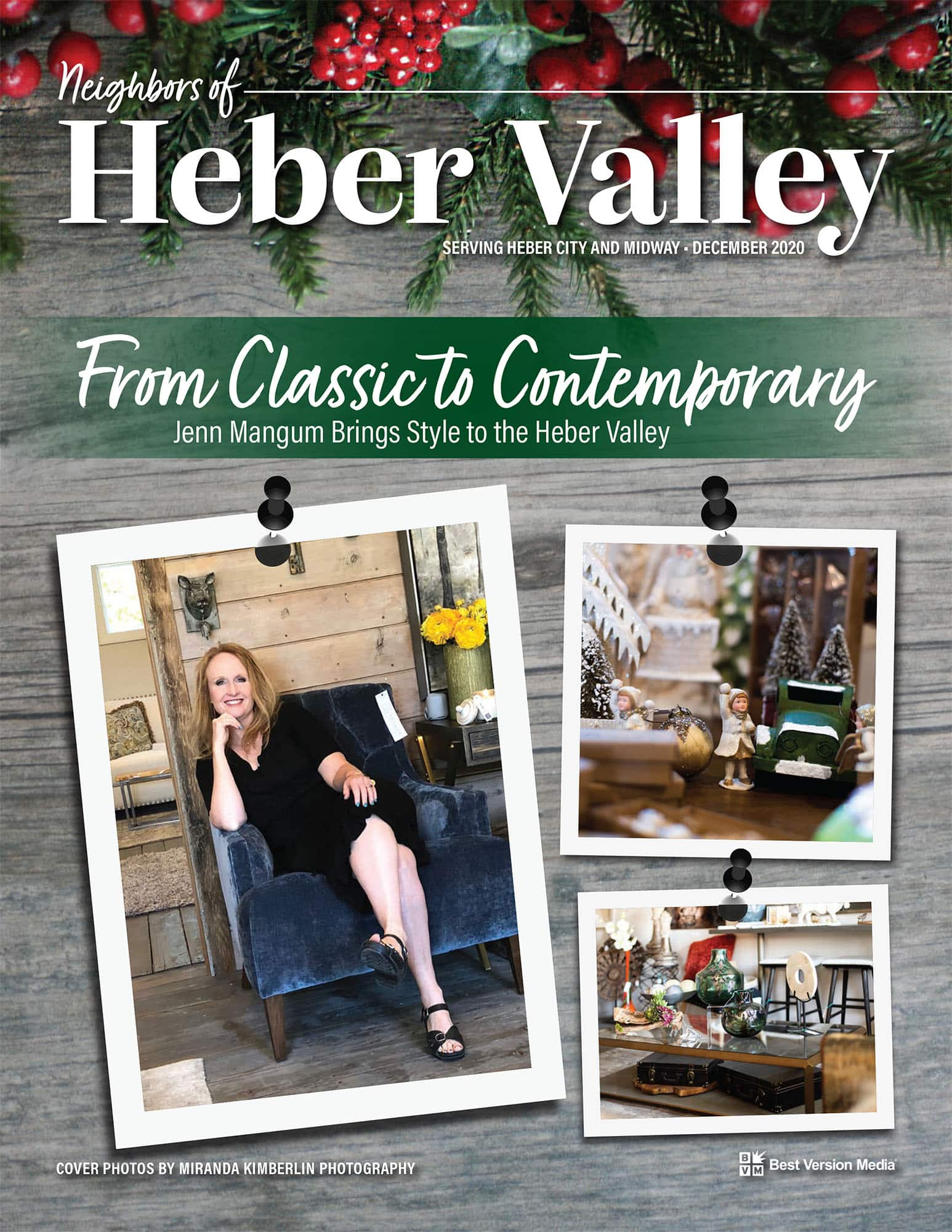 Neighbors of Heber Valley featured article: From Classic to Contemporary